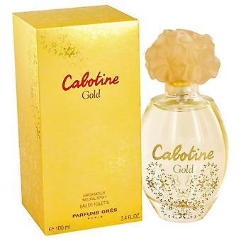 Cabotine Gold Eau De Toilette Spray By Parfums Gres 3.4 oz Eau De Toilette Spray
