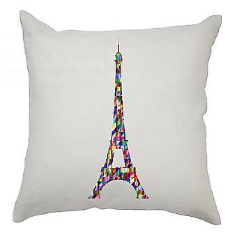 Colourful Cushion Cover 40cm x 40cm - Colourful Tower