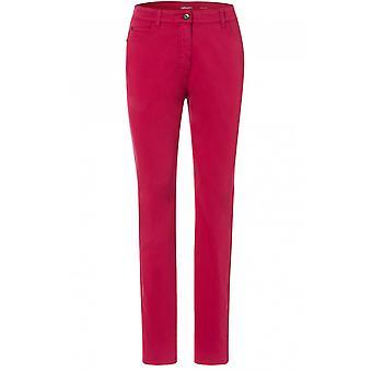 Olsen Barolo Red Mona Slim Jeans