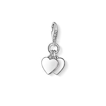 Thomas Sabo Two Hearts Charm