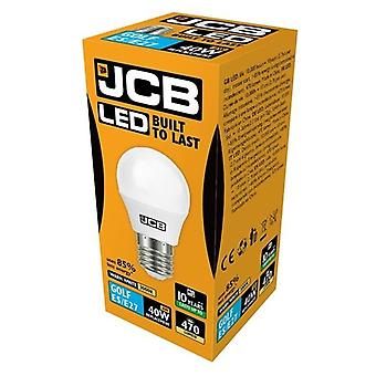 JCB LED Golf 470lm Opal 6w Light Bulb E27 2700k
