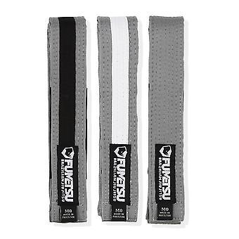 Fumetsu Kids BJJ Belt Grey