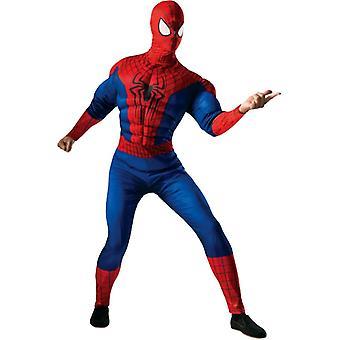 Spiderman voksen kostume