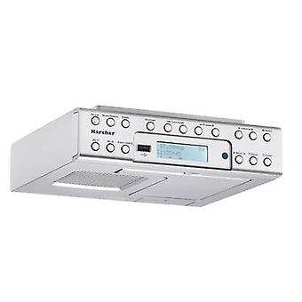 Karcher RA 2030D Radio base component DAB+ USB Silver