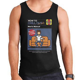 Haynes Como relaxar no sofá men's Vest