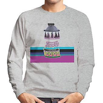Pepsi des années 1940 peut Sweatshirt Glitch masculine