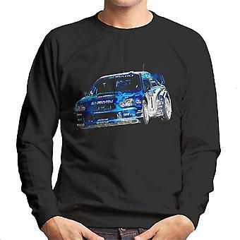 Motorsport Images Subaru Impreza WRC Men's Sweatshirt