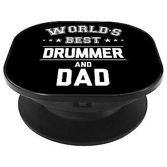Worlds Best Drummer And Dad Phone Grip