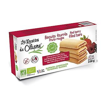 Biscuits stuffed with red fruits Bio 160 g