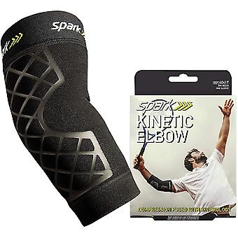 Spark Kinetic Elbow Sleeve - Compression Support with Embedded Kinesiology Tape