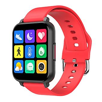 Nennbo T82 Smartwatch Smartband Smartphone Fitness Sport Activity Tracker Watch IPS iOS Android iPhone Samsung Huawei Red