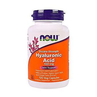 Hyaluronic acid 120 vegetable capsules