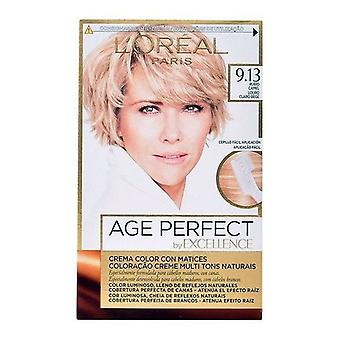 Permanent Anti-Ageing Dye Excellence Age Perfect L'Oreal Make Up Blonde