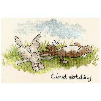 Bothy Threads Cross Stitch Kit - Cloud Watching