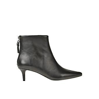 Kendall + Kylie Ezgl063054 Dames's Black Leather Enkellaarsjes