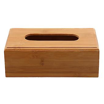 Wooden Tissue Box Paper Holder Organizer 23cm*12cm*8.4cm