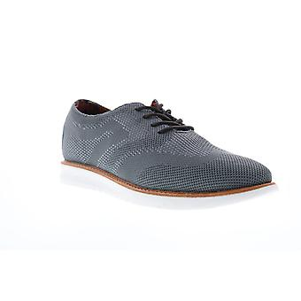 Ben Sherman Nu Casual Wingtip  Mens Gray Canvas Lace Up Oxfords Shoes