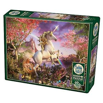 Cobble hill - realm of the unicorn - family 350 pc puzzle