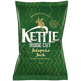 Kettle Ridged Cut Jalapeno Jack Crisps