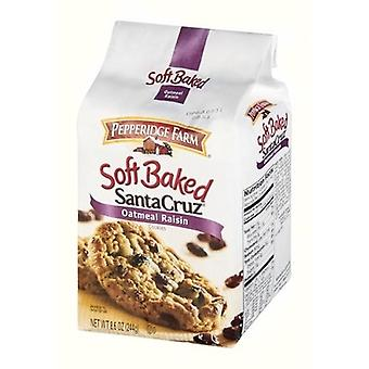 Pepperidge Farm Santa Cruz havregryn russin mjuka bakade Cookies