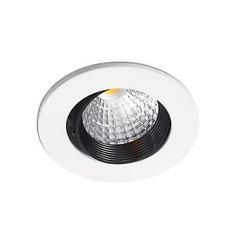 LED White Round Downlight 7W 4000K 38deg.