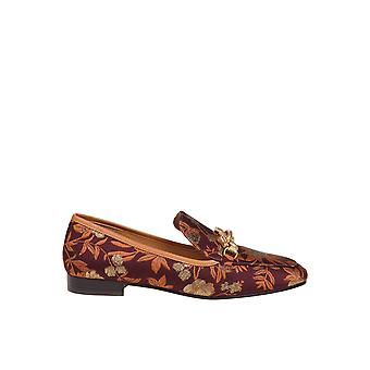 Tory Burch 76499630 Women's Burgundy Leather Loafers