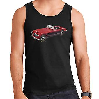 Austin Healey 3000 Mark II Red British Motor Heritage Men's Vest