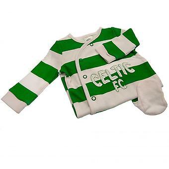 Kelttiläinen FC Vauvan sleepsuit