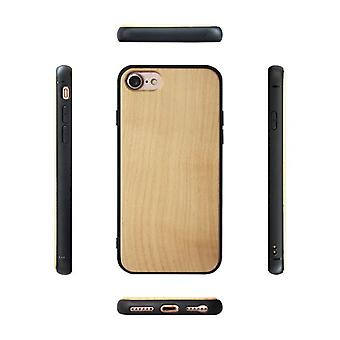 Wooden case for Apple iPhone X / XS maple qimeizhumu-30
