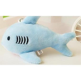 Mini Cute Shark- Stuffed Plush Toy Key Chain