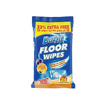 Duzzit Floor Wipes 24 Pack DZT011B