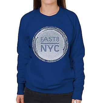 Schnell und wütend Schnell 8 NYC Frauen's Sweatshirt