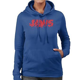 Jaws Vintage Bitten Logo Kvinnor's Hooded Tröja
