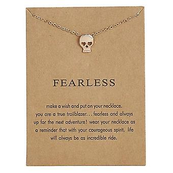 Fearless - necklace 18K gold plated gift