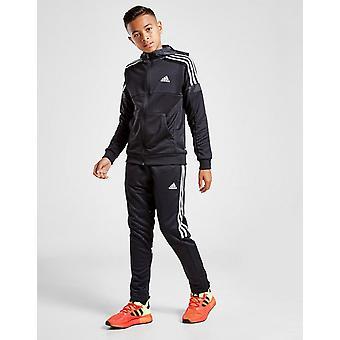 Neue adidas Originals Boys' Match Track Hose Schwarz