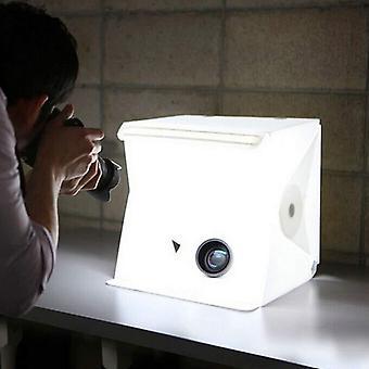 Ciaraq photo studio tent, mini foldable photography studio portable light box kit with led light, le