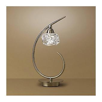Maremagnum Tafellamp 1 Bolle G9, Antieke Messing