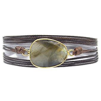 Natural Stones Charm 5 Times Friendship Wrap Bracelet