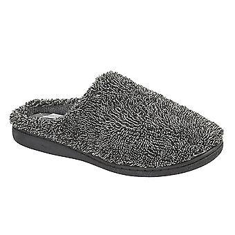 Zedzzz Mens Noah Velour Slippers