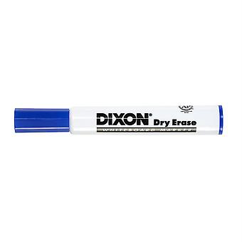 Dry Erase Markers Wedge Tip, Blue, Pack Of 12