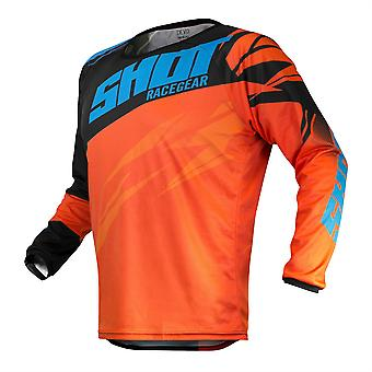2020 Shot Devo MX Jersey Adult - Ventury Orange Blue