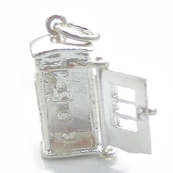 Opening Telefooncel Sterling Silver Charm .925 X 1 Telefooncellen Charms - 4950