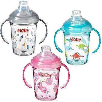 Nuby tritan grip n sip all 3 supplied