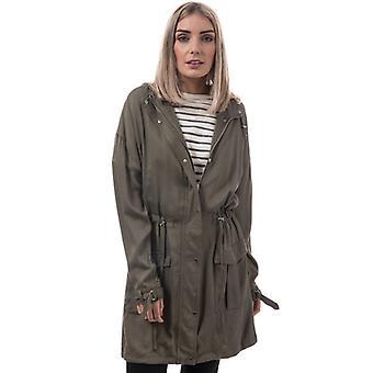Women's Bellfield Nilla Parka Jacket in Green