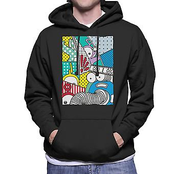 Teletubbies And Noo Noo Men's Hooded Sweatshirt