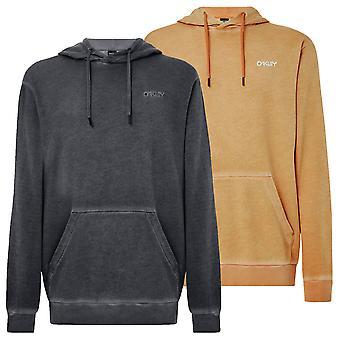 Oakley Herre 2021 Dye Pullover Sweatshirt Ribbet Manchetter Drawcord Hoodie