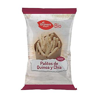 Quinoa and Chía Bio sticks 75 g