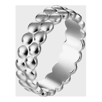 Kalevala Ring Vaalean hopean naisten ympyrä 2469480205 Rengasleveys 64
