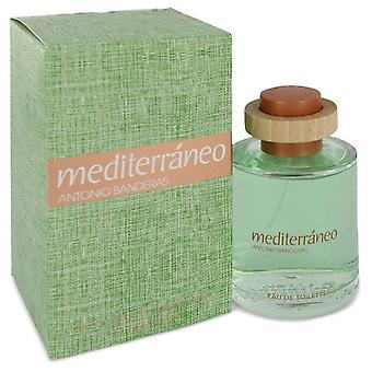 Mediterraneo Eau De Toilette Spray door Antonio Banderas 3.4 oz Eau De Toilette Spray