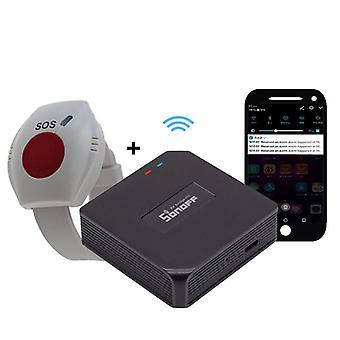 Wifi Sos Button For Elderly, Panic Button, Emergency Alarm, Wirelss Watch,